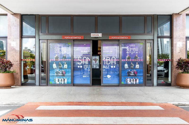 Porta automática loja