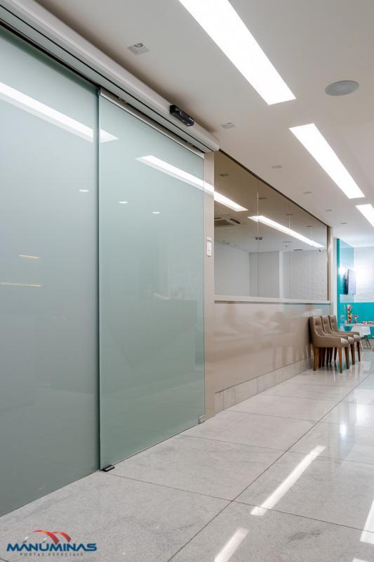 Porta automática de vidro valor