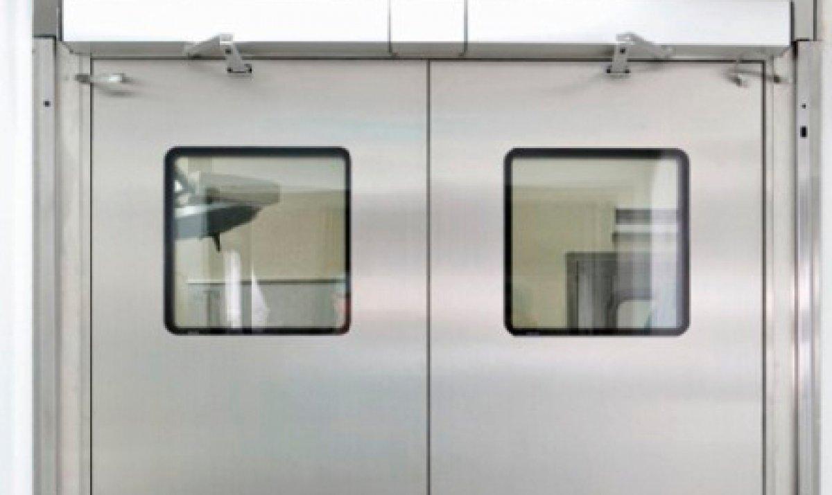 Porta automática de batente ou pivotante
