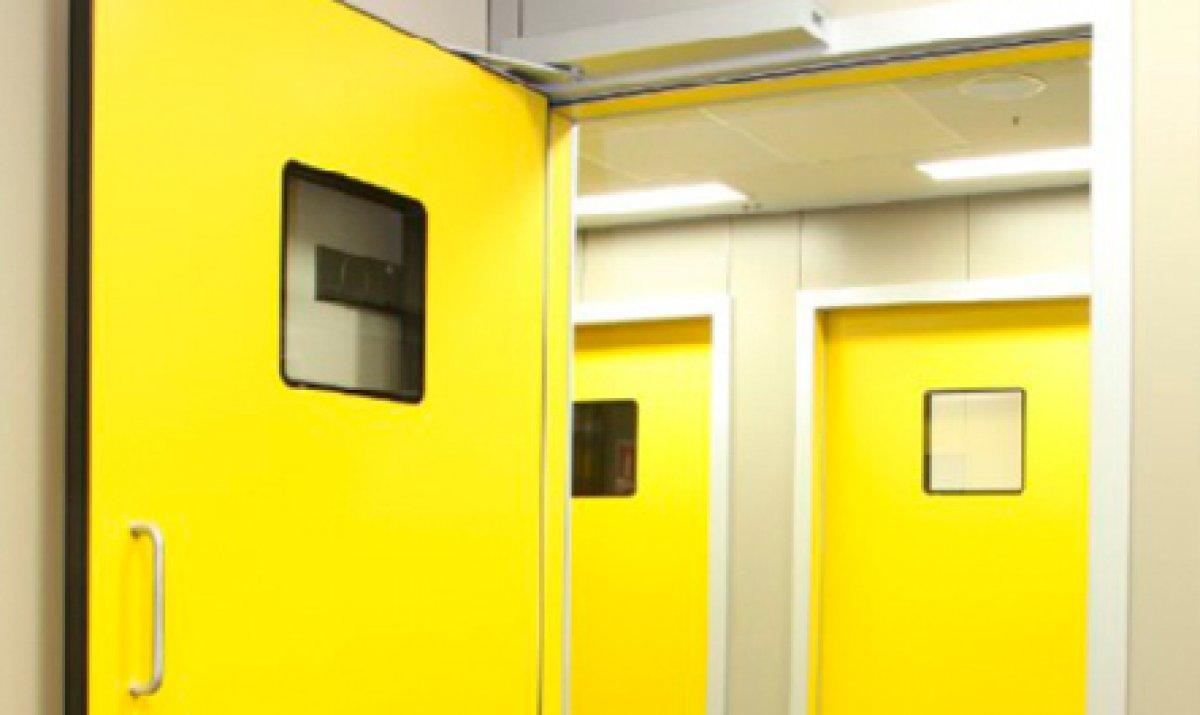 Porta automática de batente ou pivotante 1 Folha