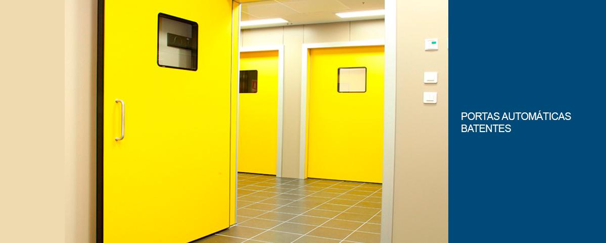Porta Automática Deslizante
